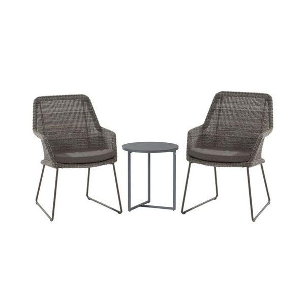 4 Seasons Samoa Cadeira C/Alm. - Ecoloom Charcoal