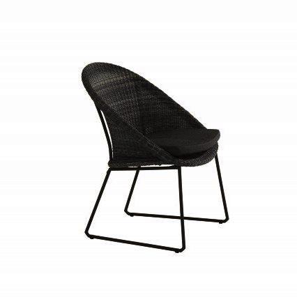 4 Seasons Hampton Cadeira C/Alm. - Ecoloom Antracite