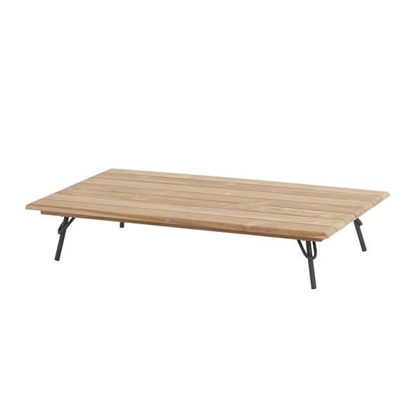 4 Seasons Cucina Coffee Table - Alum-Teak