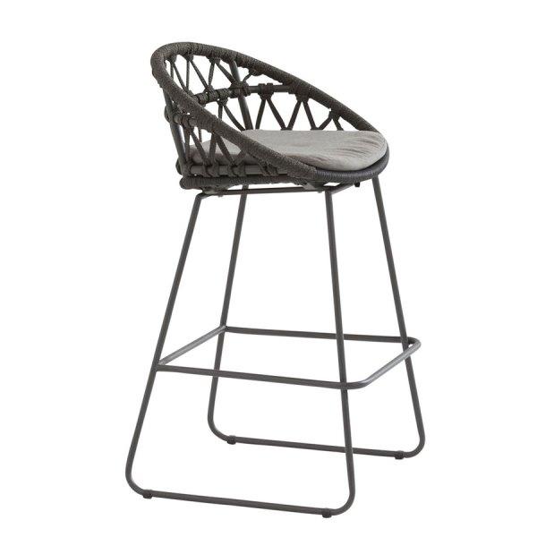 4 Seasons Motivi Chair Bar W/Cushion - Rope