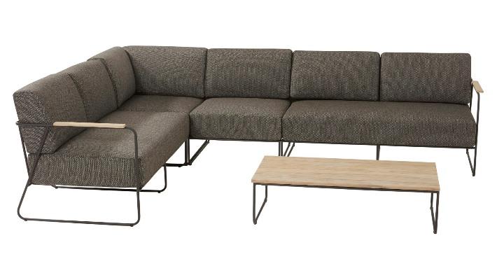 4 Seasons Coast Modoluar Corner w/ Cushions - Anthracite