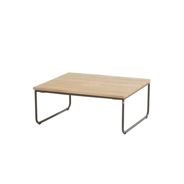 4 Seasons Axel Coffee Table 80x80 - Antracite/Teak