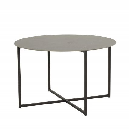 4 Seasons Quatro Ø120cm Table Marble / Anthracite