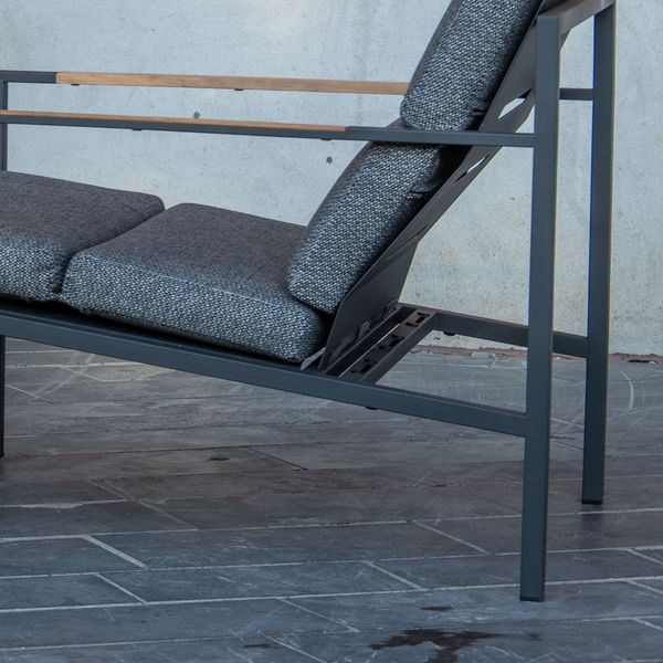 4 Seasons Trentino 2,5Seater Sofa + 2x Living Sofas - Antrac
