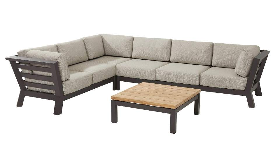 4 Seasons Meteor 2 Seater Sofa Right Arm Antracite