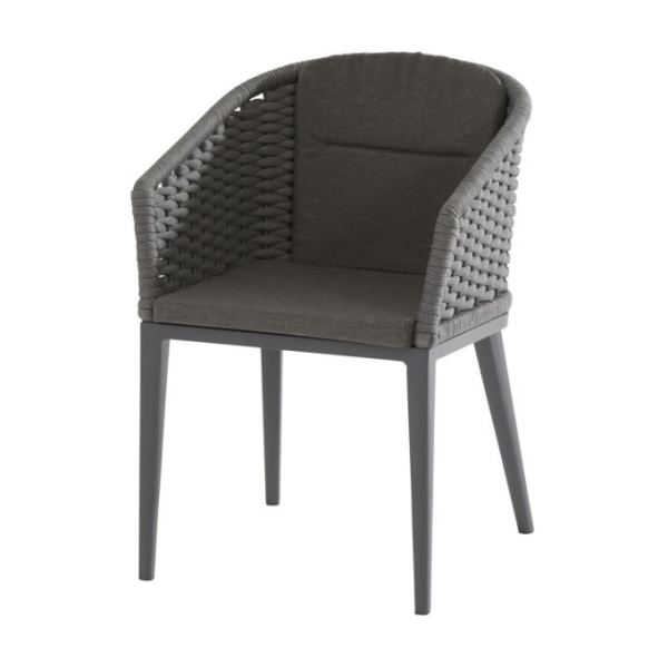 Taste Portobello Dining Chair  - Matt Carbon