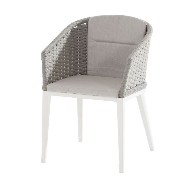 Taste Portobello Dining Chair - White