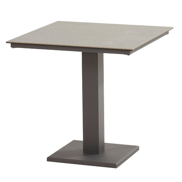 Taste Titan Table 75x75 Ceramic - Matt Carbon