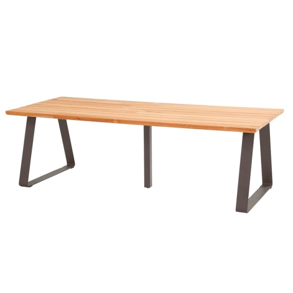Taste Basso Table 240x100 - Teak / Antracite