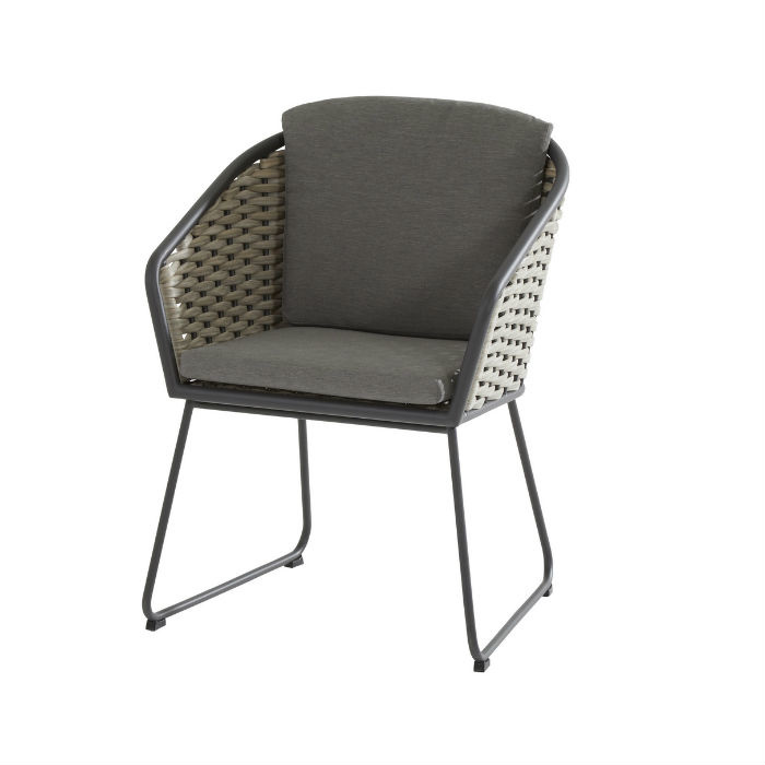 Taste Bo Dining Chair - Banana/Grey