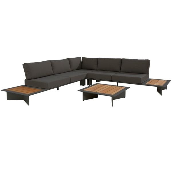 Taste Lovina Platform Sofa Set - Matt Carbon