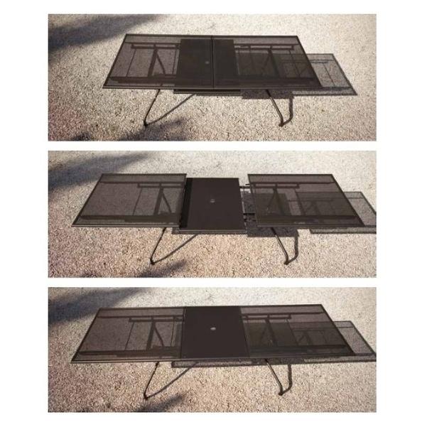 Emu Set Athena Ext. Table 230-300x100 + 8x Athena - Antraci