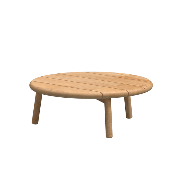 4 Seasons Ceylon Coffee Table ø90 (H35) -  Nat. Teak