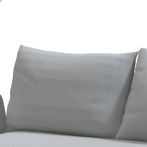 4 Seasons Play Back Support w/Cushions - Frost / Grey