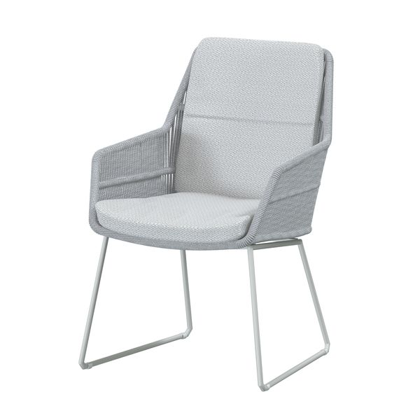 4 Seasons Valencia Chair w/ Cush.- Frozen