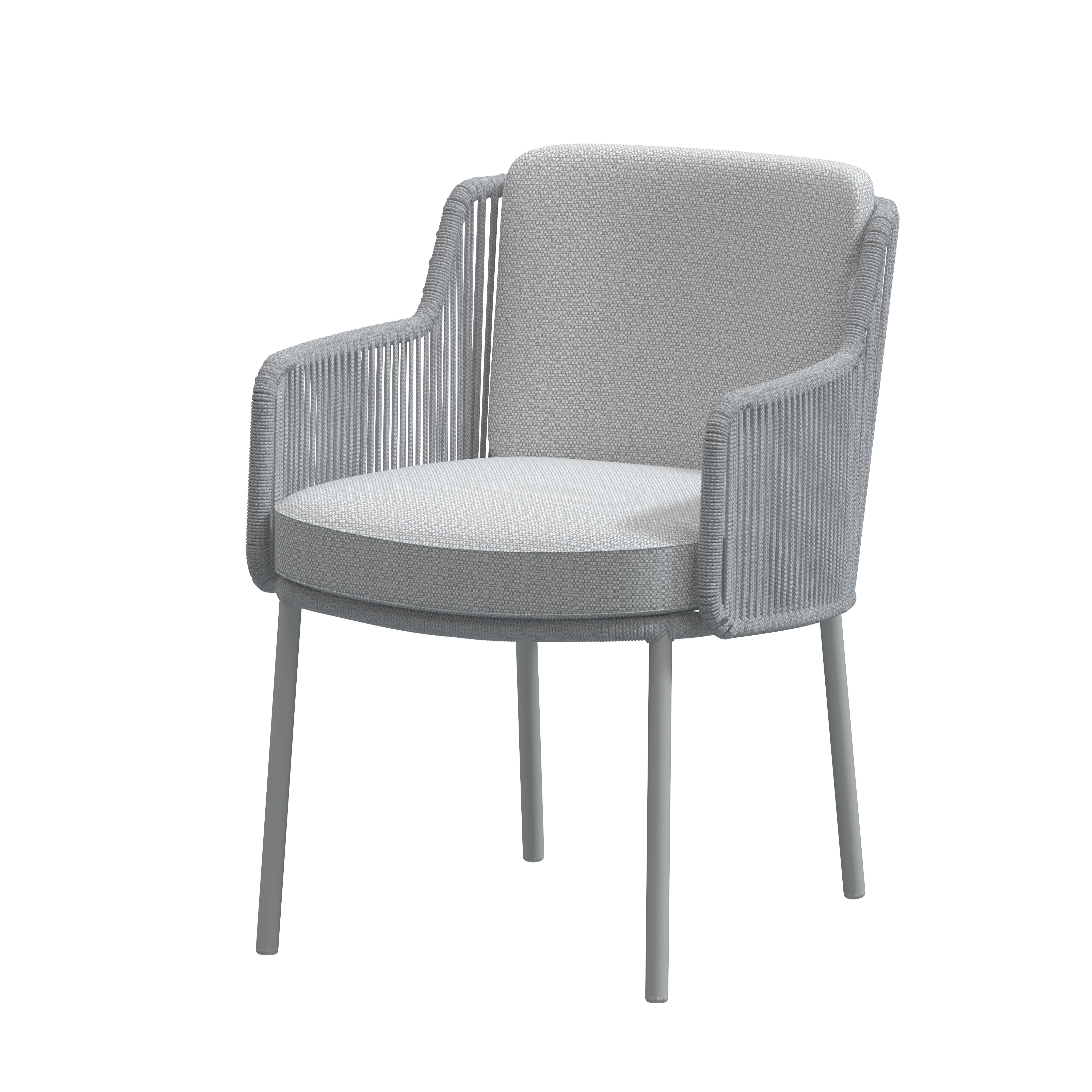 4 Seasons Bernini Chair w/ Cush.- Frozen