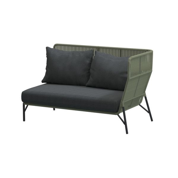 4 Seasons Altoro Modular 2seat. Left Arm - Green