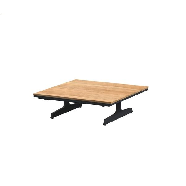 4 Seasons Endless Coffee Table 95x95 - Anthracite/Teka