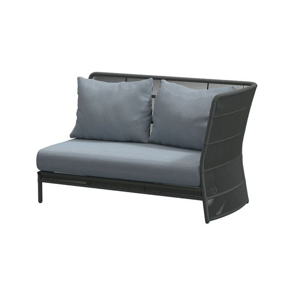 4 Seasons Oriënt Modular 2Seater Left W/Cushions - Platinum