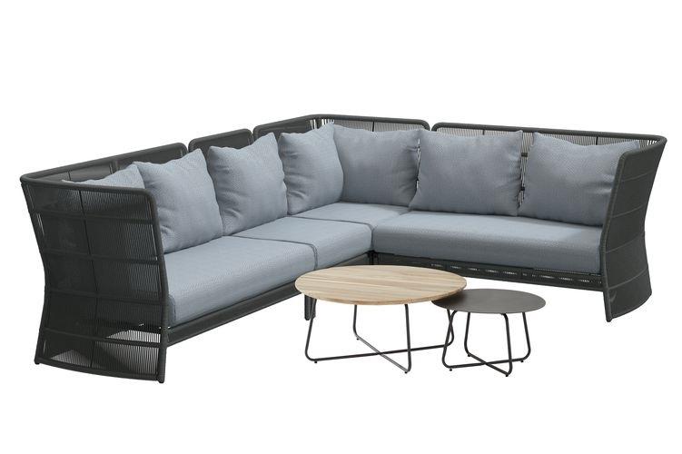 4 Seasons Oriënt Modular Corner  W/Cushions - Platinum