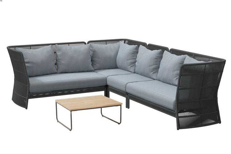 4 Seasons Oriënt Modular Center W/Cushions - Platinum