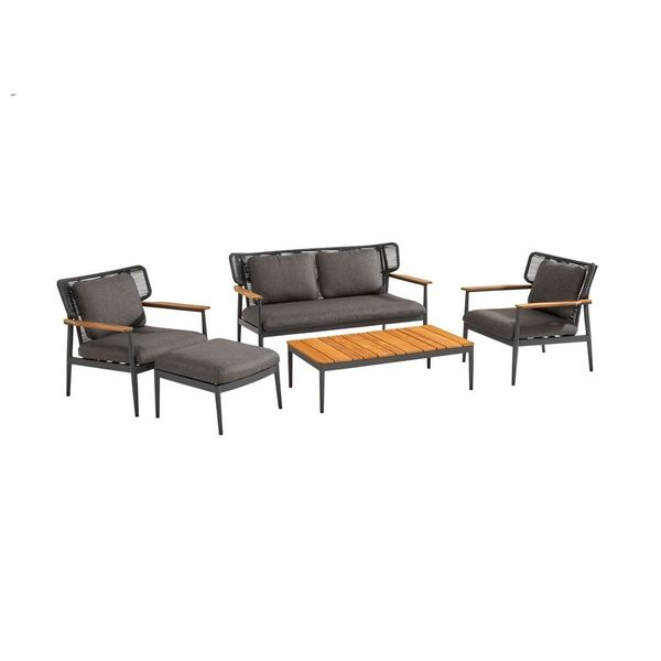 Taste Arturo Sofa Set - Matt Carbon