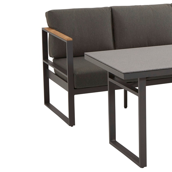 Taste Montigo Cosy Sofa Set - Matt Carbon