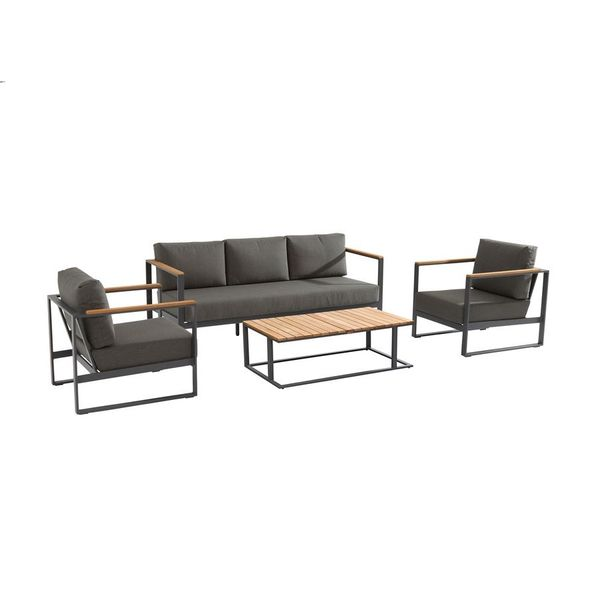 Taste Montigo Lounge Sofa Set - Matt Carbon