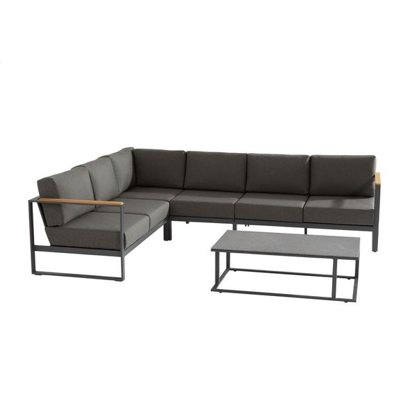 Taste Montigo Modular Sofa Set - Matt Carbon