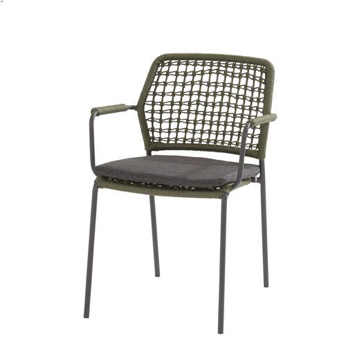 Taste Barista Rope Stacking Dining Chair - Green