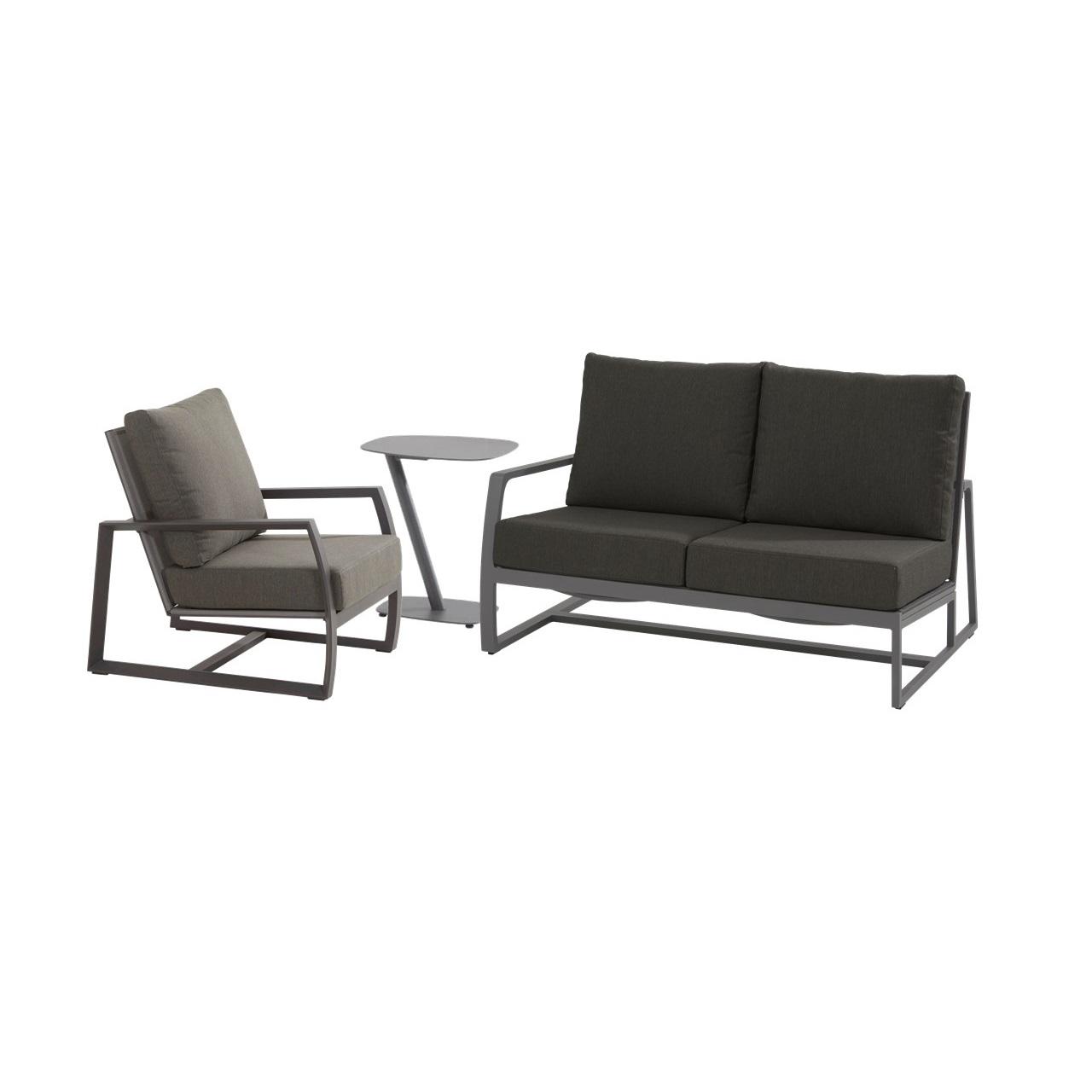 Taste Mauritius Modular Set W/Cushions - Slate Grey