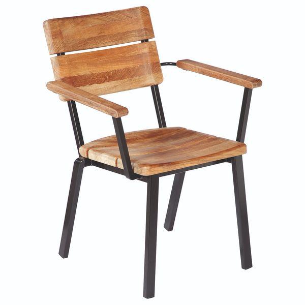 Barlow Titan Cadeira c/ Braços - Teka/Antracite