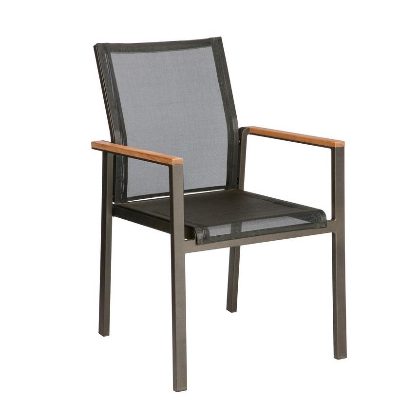 Barlow Aura Cadeira c/ Braços - Antracite
