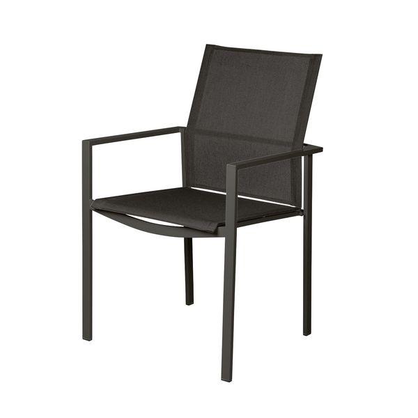 Barlow Mercury Cadeira c/ Braços - Antracite