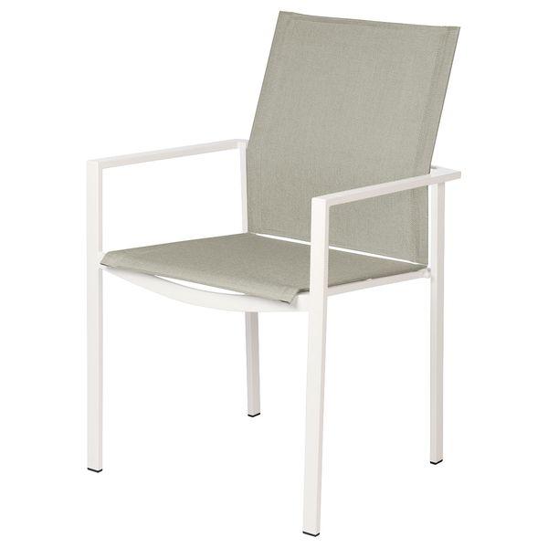 Barlow Mercury Cadeira c/ Braços - White