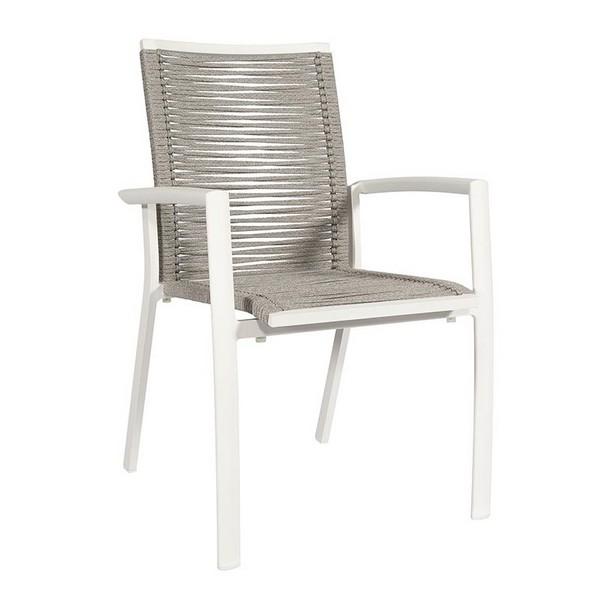 Taste Torino Rope Dining Chair - Matt Carbon