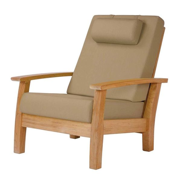 Barlow Haven Living Chair - Teak
