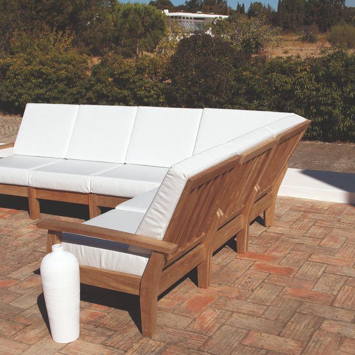 Barlow Haven Living Chair - Teak
