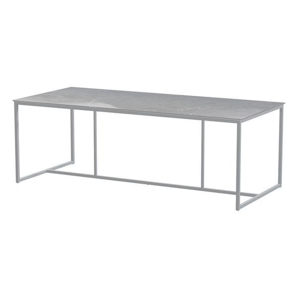 4 Seasons Quatro Cerâmic Table 220x95 - Lt. Marmore / Frost