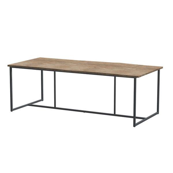 4 Seasons Quatro Robusto Teak Table 220x95 - Teak / Frost