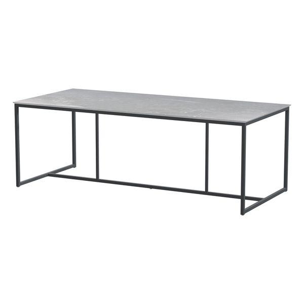 4 Seasons Quatro Cerâmic Table 220x95 - Lt. Marble / Antraci