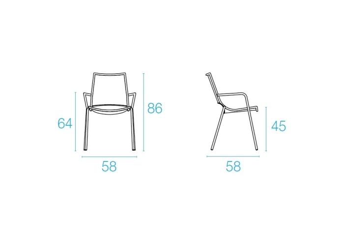 Emu ALA Chair - Antracite