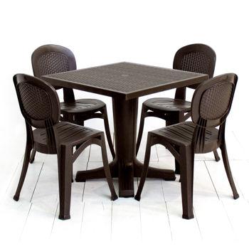 Jofix Giove Table 80x80 White