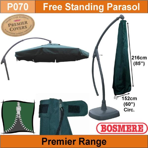 Bosmere Parasol Cover (feestanding) 152øX216cm
