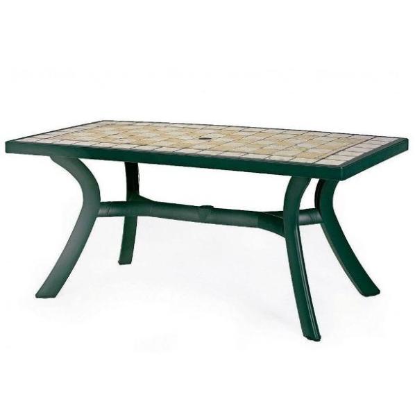 Moveison jofix toscana table 120x80 green siena for Table 120x80