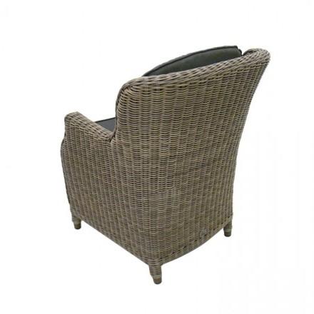4 Seasons Brighton Dining Chair w/ 2 cushions - Pure
