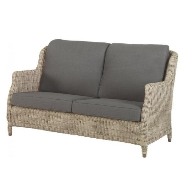 4 Seasons Brighton 2,5 seater Sofa w/ 4 cushions - Pure
