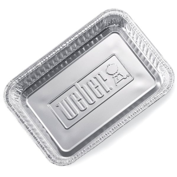 Weber Large Aluminum Trays