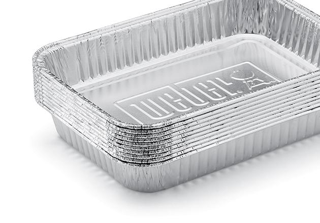 Weber Bandejas de Aluminio Grandes