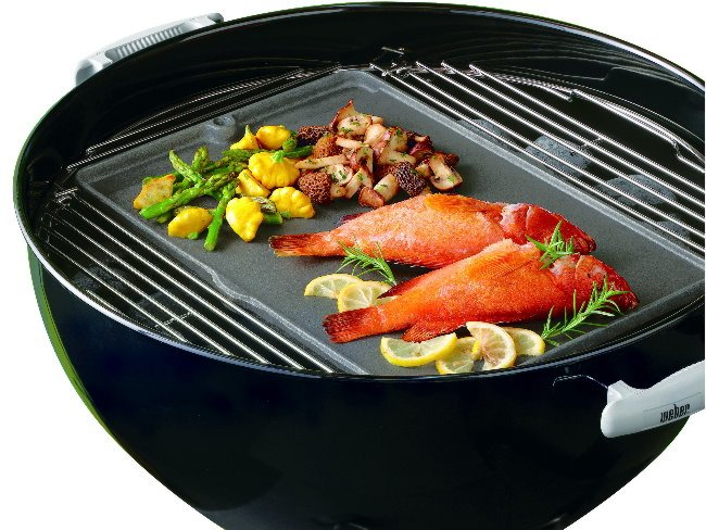 Weber Grill Plate for Charcoal BBQ 57cm - Reversible